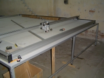 Cutting machine for blinds